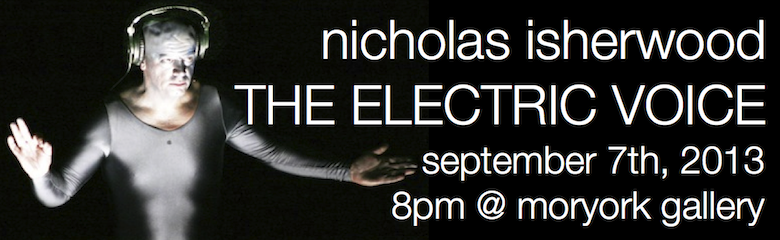 Nicholas Isherwood - The Electric Voice